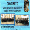 Elpròximdivendres, dia 18 denovembre,escelebrarà un concert de la Coral adulta de laBasílicade Sant Francesc de Palma a l'Església de Cala Millor a partir de les 20 hores, l'entrada seràgratuïta.