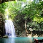 Cascades d'Erawan, a l'oest del país.