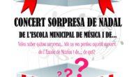 Els alumnes de l'Escola municipal de música dia 2 de desembre, faran a La Unió el seu concert de Nadal que enguany arriba amb sorpresa inclosa.