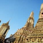 Temple Wat Arun de Bangkok.