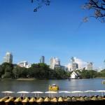 Parc Lumphini, pulmó de la ciutat.