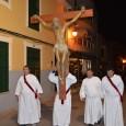 A continuació, podeu veure les imatges de la processó del Dijous Sant, al pas pel carrer Pere Antoni Servera.