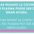 El Banc de Sang iTeixitsde les Illes Balears amb la col·laboració de donants que hagin superat la Covid-19, cerca persones per donar plasma que és ric amb anticossos contra el […]