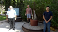 La parròquia ha adquirit una escultura a l'escultorserverí, Pedro Flores, perquè lluesqui, a l'espai buit que va deixar la mort d'una de les dues palmeres que es troben a l'entrada […]