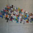 Aquest passat cap de setmana, els alumnes més artístics de l'institut Puig de Sa Font exposaren al centre jove, els treballs realitzats durant tot el curs escolar.