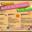 A continuació podeu consultar el programa de les FestesMare de Déu dels Àngels, que enguany té previstos actes des del diumenge, 26 de juliol, fins diumenge següent, 2 d'agost.