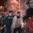 Una setmana després de Sant Antoni, Cala Millor va tornar reviure la nit de foguerons, amb molta alegria i corregudes amb el dimoni.