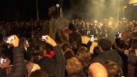 Aquestessónimatges dels foguerons de Cala Millor del passat 18 de gener.