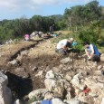 Fins el proper dia 25 d'abril, un grup de treball amb voluntaris de l'Organització Centre Cívic Internacional i voluntaris locals estan realitzant tasques d'excavació al jaciment de Mestre Ramon.