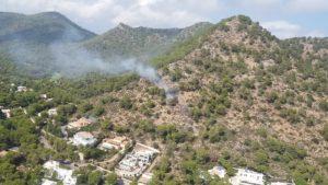 Incendis muntanya Costa dels Pins