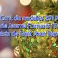 Els jovesalumnesdel col·legi Jaume Fornaris, baixaren fins a l'Església, per cantar Nadales. Aquestessónles imatges.