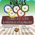 L'Ajuntament organitza mitjançant les regidories d'Esports i Joventut les I Olimpíades Rurals, que es celebraran aquest divendres dia 5 d'agost a les 16:0o h. a l'aparcament de la plaça Mallorca, […]