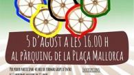 L'Ajuntament organitza mitjançant les regidories d'Esports i Joventut les I Olimpíades Rurals, que es celebraran aquest divendres dia 5 d'agost a les 16:0o h. a l'aparcament de la plaça Mallorca,...