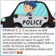 Avui Capvespre Patrulles de la Policia Local han recorregut els carrers del municipi, per tal de fer un aplaudiment a tots els nins que es queden a casa durant aquests […]