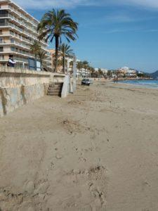 Regeneracio platja Cala Millor