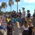 A Cala Millor i dinsels actesde les Festes del turista es va celebrar la primera trobada gegantera amb la participació de 6 colles de Mallorca.