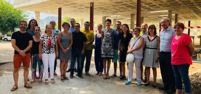 Avui mati el Conseller d'Educació i Universitat, Martí March, ha visitat les obres del nou que s'estan fent a l'Institut Puig de Sa Font, de l'edifici que albergarà les classes […]