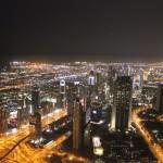 Vistes de Dubai des del Burj Khalifa