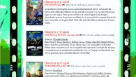 Aquestessónles projeccions de cine a la fresca que es faran a Cala Millor al patí situatdarrereel Centre Cívic: