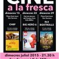 Cicle de Cine a la Fresca -dimecres juliol 2015- Son Servera i Cala Millor 21.30 h Dimecres 15 de juliol a la plaça de Sant Joan de Son Servera CHEF(115 […]