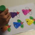 Els alumnes de l'Escola Municipal de Música i Dansa han realitzat aquests dies uns tallers de figures de Nadal per decorar la seva escola.