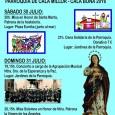 Aquestésel programa de les Festes patronals de la Mare de Déu dels Àngels de Cala Millor: