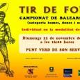 Aquest diumenge 22 a partir de les 16.00 hores devora el Parc Verd de Son Servera, es celebrarà el campionat de Balears 2015 de tir amb Fona. Dimarts passat, 17 […]