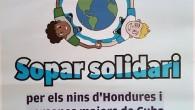 SonServera solidari celebrarà elproper dia12 d'agost a les 21 hores, a l'Església Nova, el sopar solidari a benefici dels nins d'Hondures i persones majors de Cuba. Podeu adquirir les entrades...