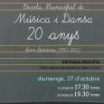 El proper diumenge 27 d'octubre s'estrena el documental Escola Municipal de Música i Dansa, 20 anys. El Teatre La Unió de Son Servera ha programat dues sessions, la primera a […]