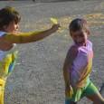 Ahir capvespre es va celebrar la festa Holi als aparcaments de la plaça Mallorca, on el color, la música i diversió foren els protagonistes.