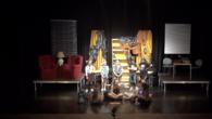 Fantasmes és la primera de les obres de teatres que han interpretat els joves alumnes de l'escoleta de teatre d'estiu. Dirigits per Arnau Serra.