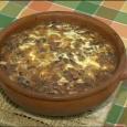 Aquesta és la recepta de greixonera de porc que va fer Maria Brunet pel programa La Mirada d'IB3, el dijous llader.