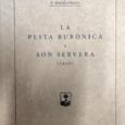 """Dijous passat es va presentar al teatre La Unió, la reedició del llibre """"La pestabubònicaa Son Servera 1820"""" de Pedro Servera Nebot, al qual pertanyen les imatges."""