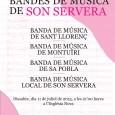 Dissabte dia 11 de juliol a les 21 hores a l'Església Nova se celebrarà23è Festival de Bandes de Música, amb la participació de les bandes de: Sant Llorenç, Montuïri, Sa […]