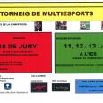 El Departament de Benestar Social organitza, juntament amb el Departament d'Esports, un torneig de multiesports destinat als joves del municipi amb edats compreses entre els 12 i els 18 anys. […]